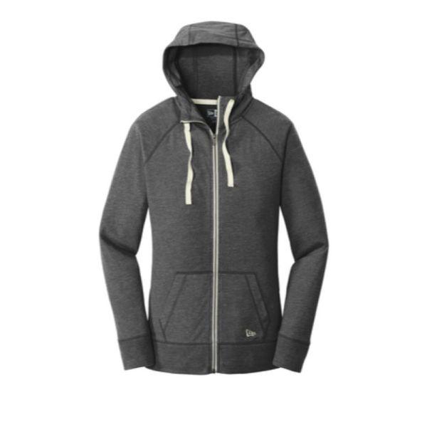 Ladies zip hoodie