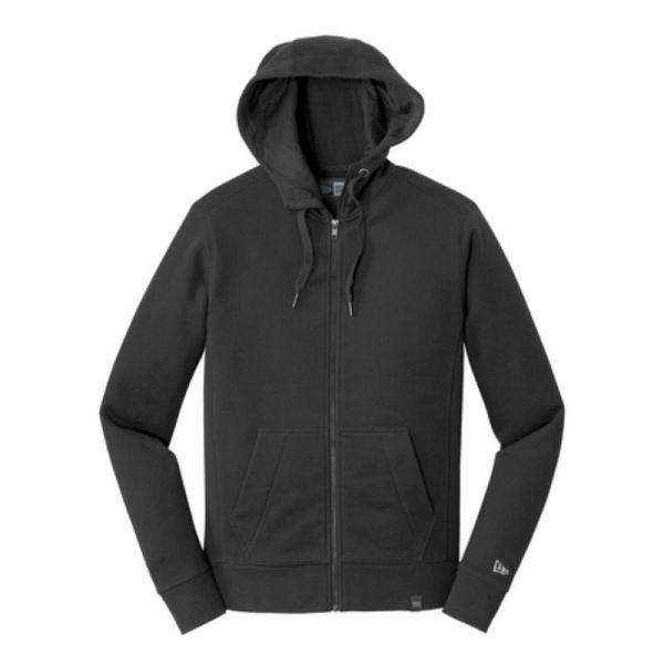Full zip fleece hoodie