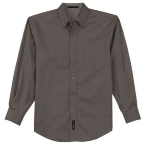 Mens Twill Dress Shirt