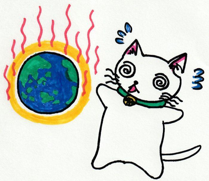 ションタの受付日記 『世界も暑い』