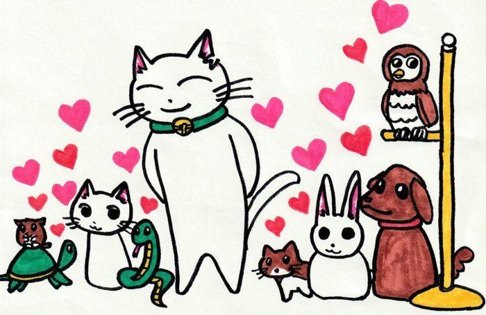 ションタの受付日記 『ペットは観ている』