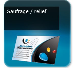 Gauffrage relief