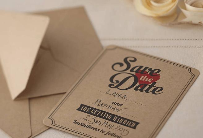 Impression carte invitation mariage écologique, recyclé Montréal, Laval Québec