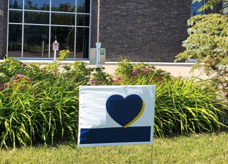 Impression enseigne de jardin - Poly bag - Lawn-Sign_Montreal, Laval, Québec