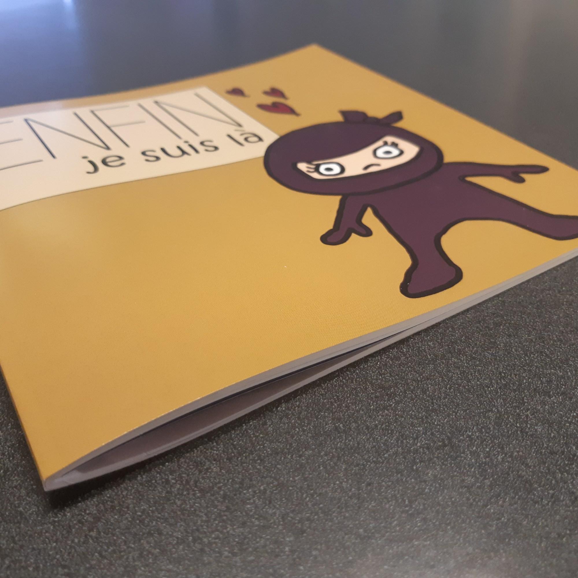 Impression de brochures - livre pour enfant - Montreal - Laval