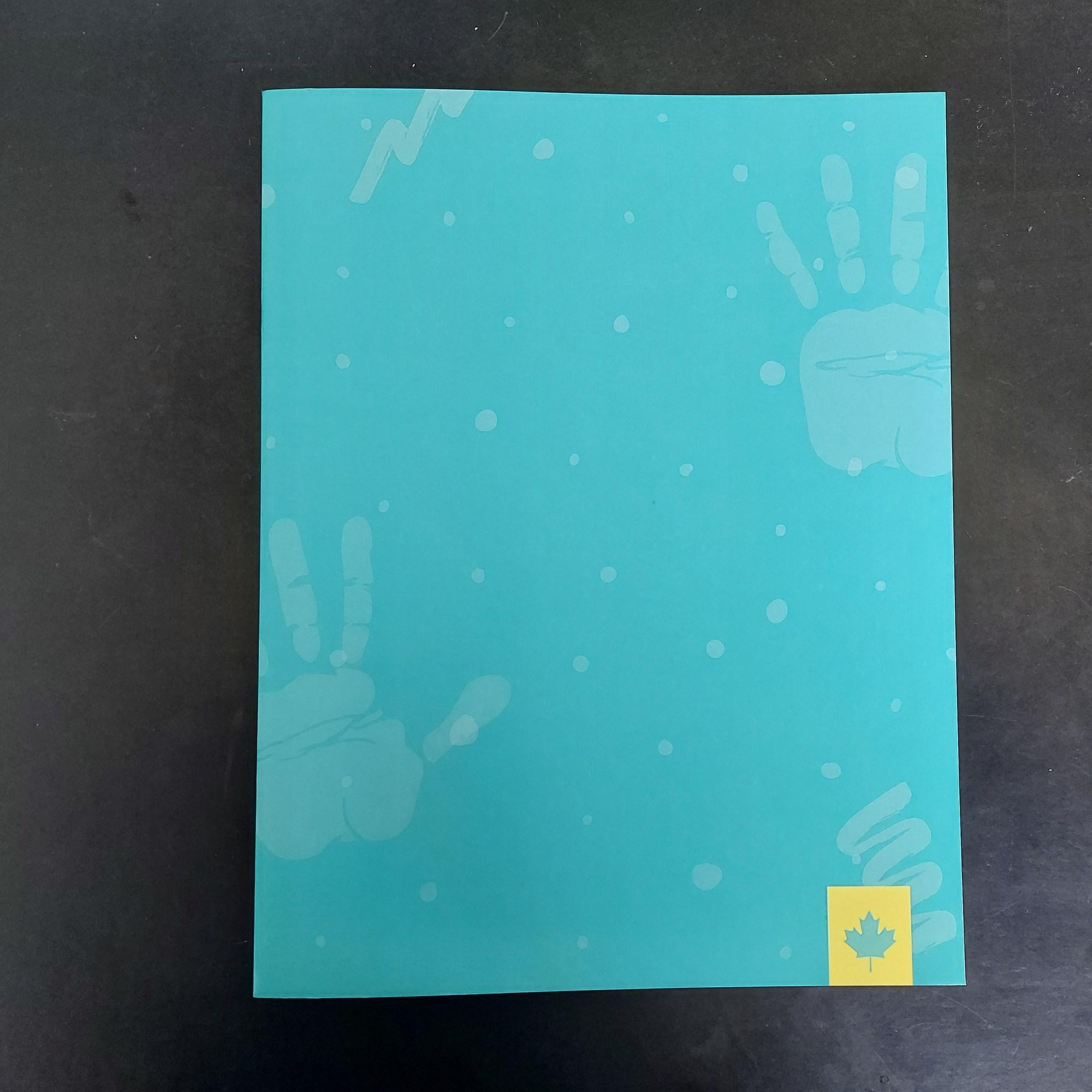 Impression de cahiers / livres effacable avec lamination dry erase (effacable) Montréal - lavable