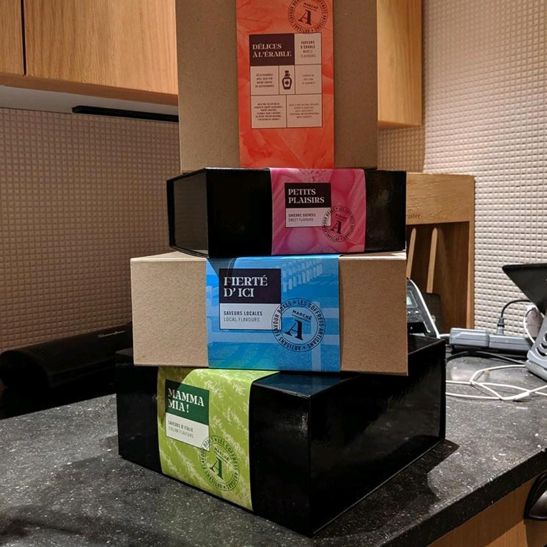 Impression et découpe de sleeves / bandeaux en carton pour boîtes Montréal laval