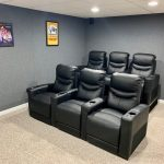Perfect For Basement Home Theater Basement Finishing Basement Remodeling