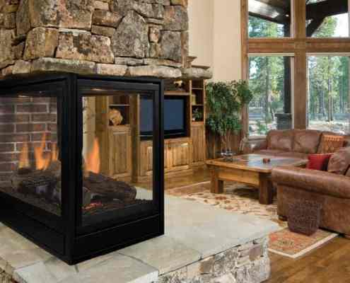 Pearl Direct Vent Gas Fireplace by Majestic Products