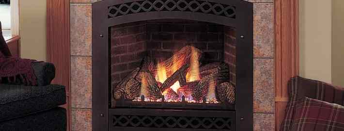 Lexington Direct Vent Gas Fireplace by Majestic Products
