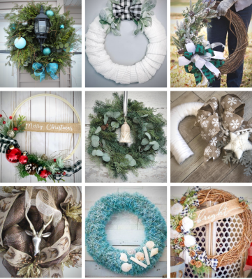 wreaths- holidays- seasonal- christmas- diy- floral design- interior design- hastings- minnesota- eye candy