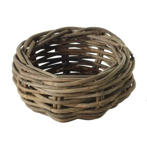 "wooden basket 17.5"" Impressive Windows & Interiors Hastings MN"