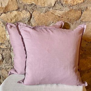 Lilac decorative pillow with a small flange around the perimeter- Impressive Windows & Interiors in Hastings MN