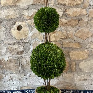 english triple preserved boxwood topiary from Impressive Windows & Interiors in Hastings MN