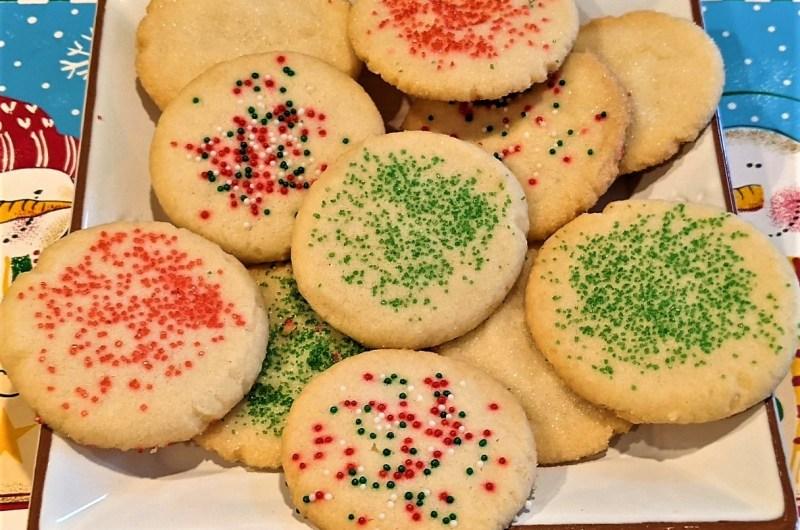 1-2-3 Sugar Cookies