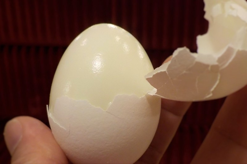 """Easy """"Hard-Boiled"""" Eggs"""