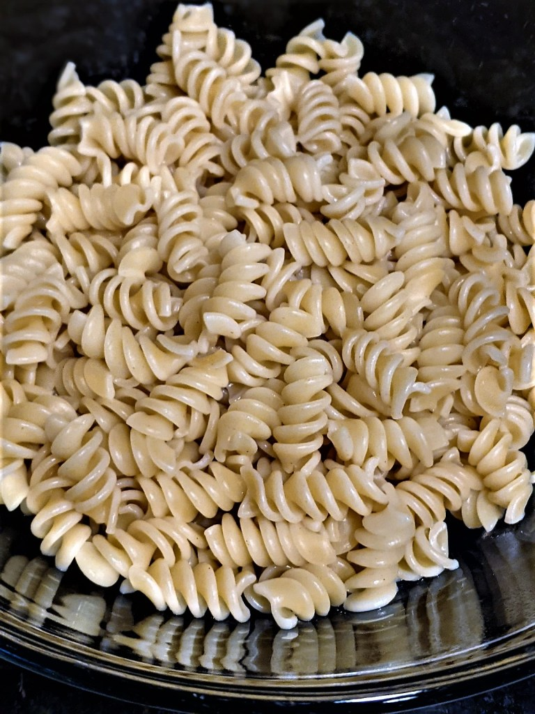 image of cooked pasta in bowl