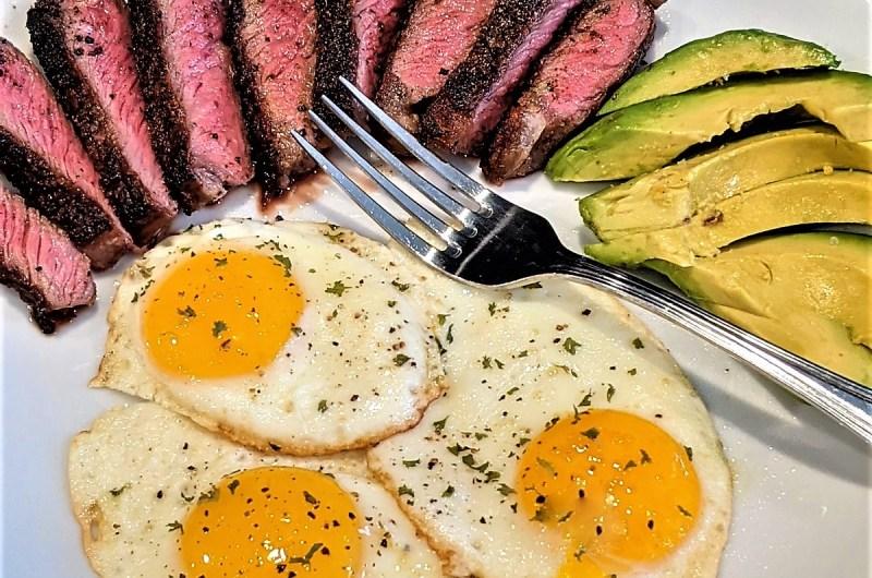 Keto Steak & Eggs Breakfast