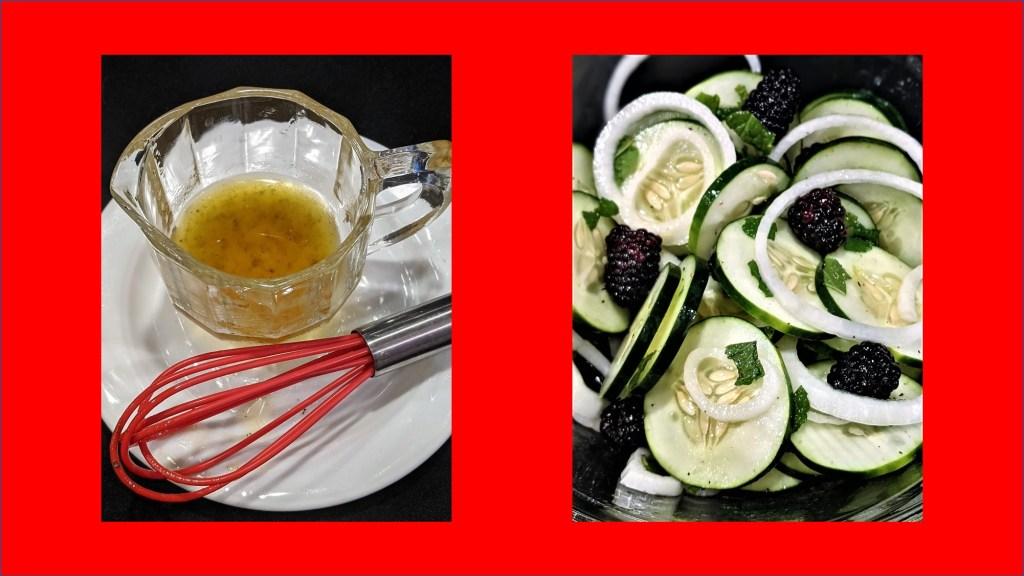 salad and salad dressing