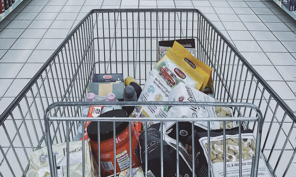 image of grocery cart