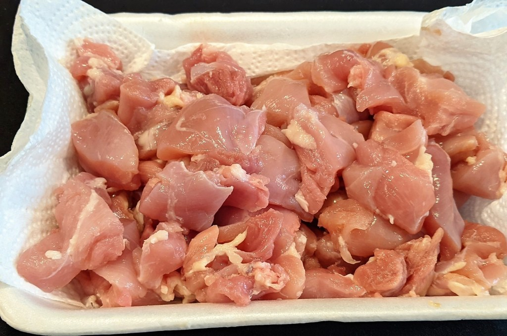 cut up chicken