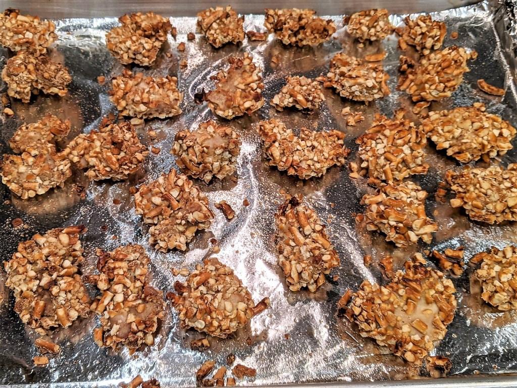 nuggets on sheet pan