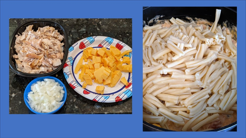 Images of prepped ingredients