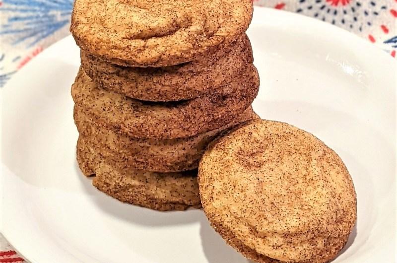 Easy Snickerdoodle Cookies