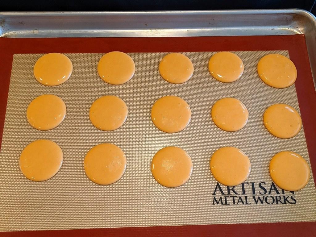 dough on baking sheet