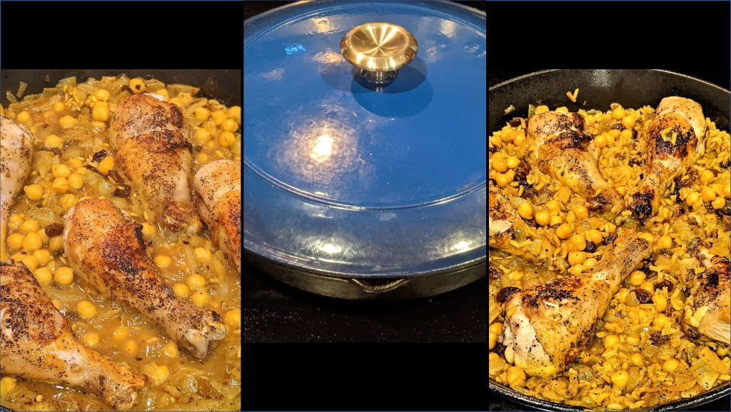 images of chicken in pan