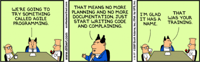What is Agile Programming? (Comics)