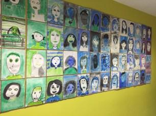 Un arcobaleno di ritratti dei bambini e ragazzi della Keystone International school