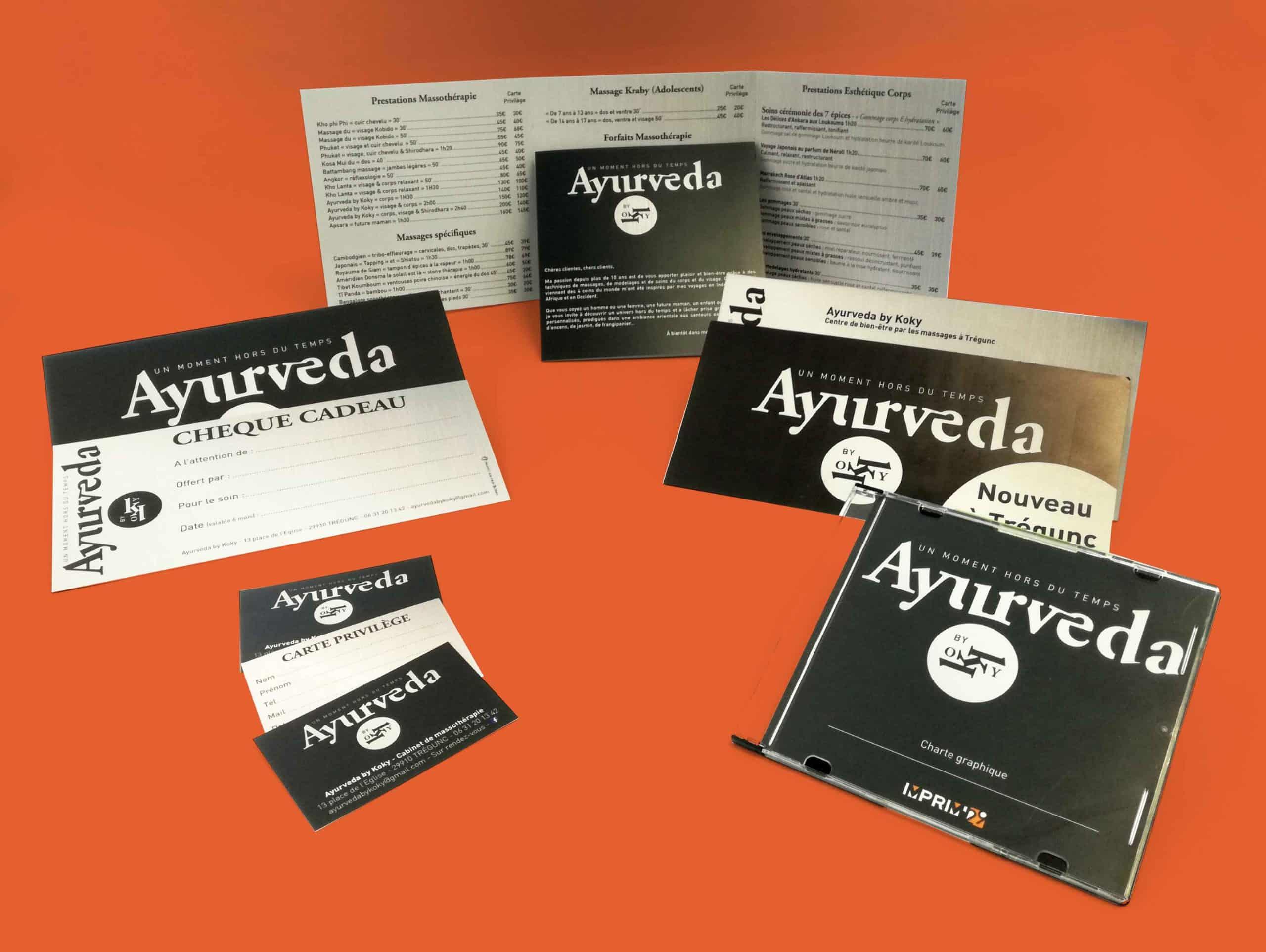 Ayurveda - Trégunc - Communication complète en print