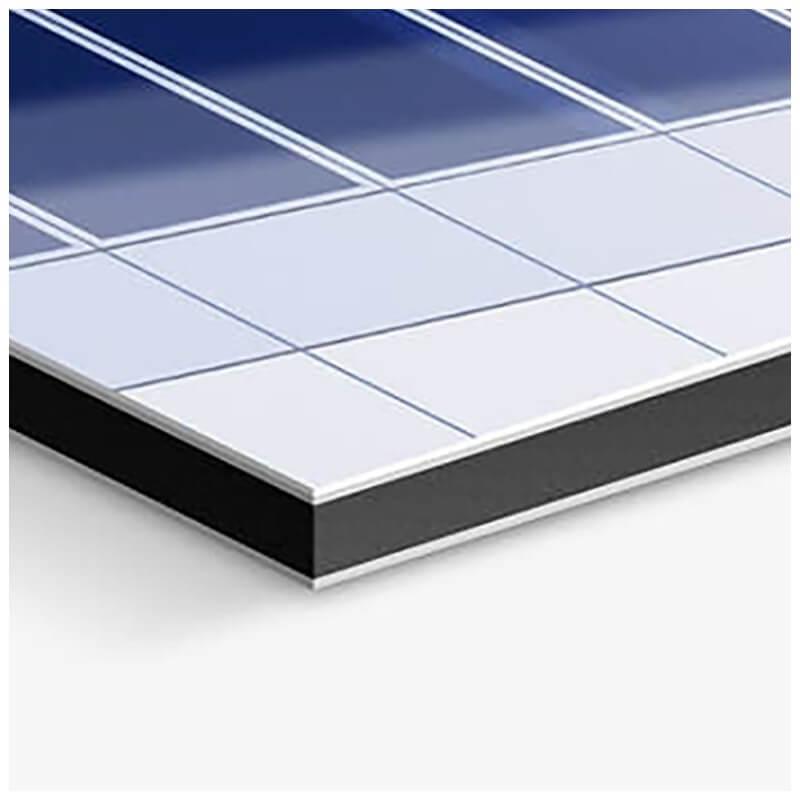 aluminium dibond blanc 5 mm