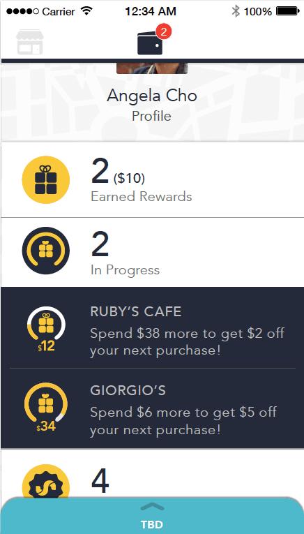 Slyde Wallet In progress rewards