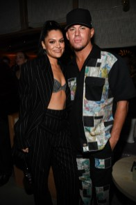 WEST HOLLYWOOD, CALIFORNIA - JANUARY 26: (L-R) Jessie J and Channing Tatum attend Republic Records Grammy After Party at 1 Hotel West Hollywood on January 26, 2020 in West Hollywood, California. (Photo by Kevin Mazur/Getty Images for Republic Records)