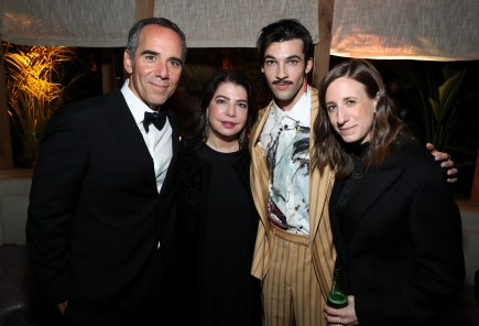 WEST HOLLYWOOD, CALIFORNIA - JANUARY 26: (L-R) Founder and CEO Monty Lipman, Michele Anthony, LoveLeo and Talya Elitzer attends Republic Records Grammy After Party at 1 Hotel West Hollywood on January 26, 2020 in West Hollywood, California. (Photo by Randy Shropshire/Getty Images for Republic Records)