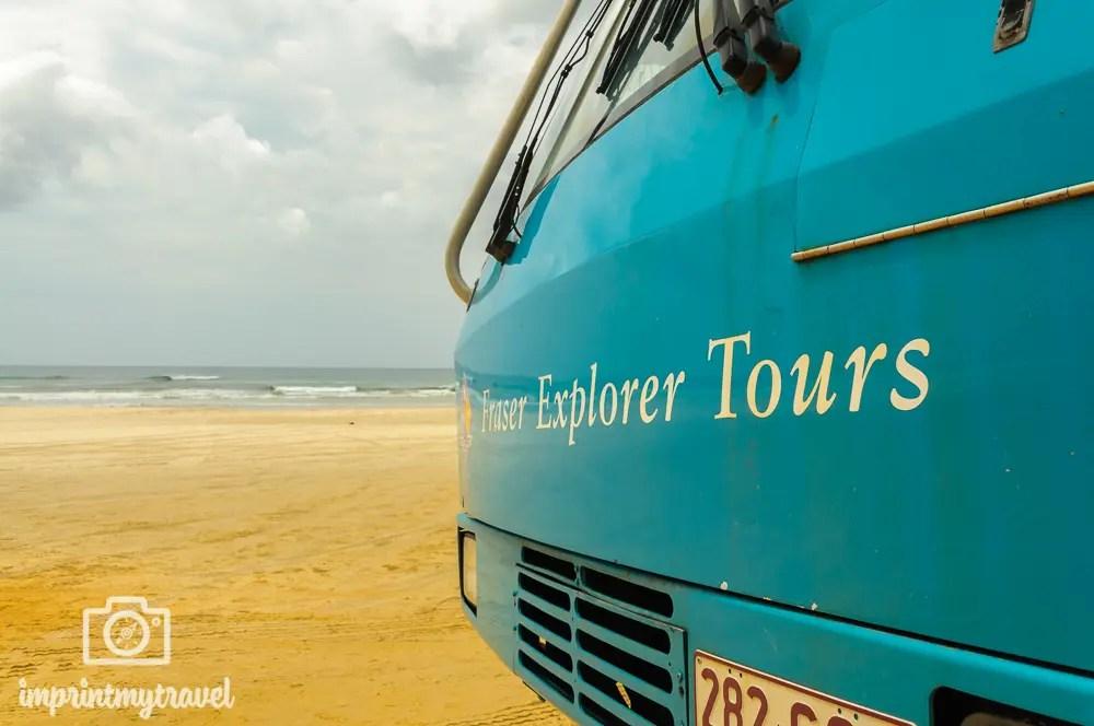 Australien, Fraser Island Tours, 75 Miles Beach