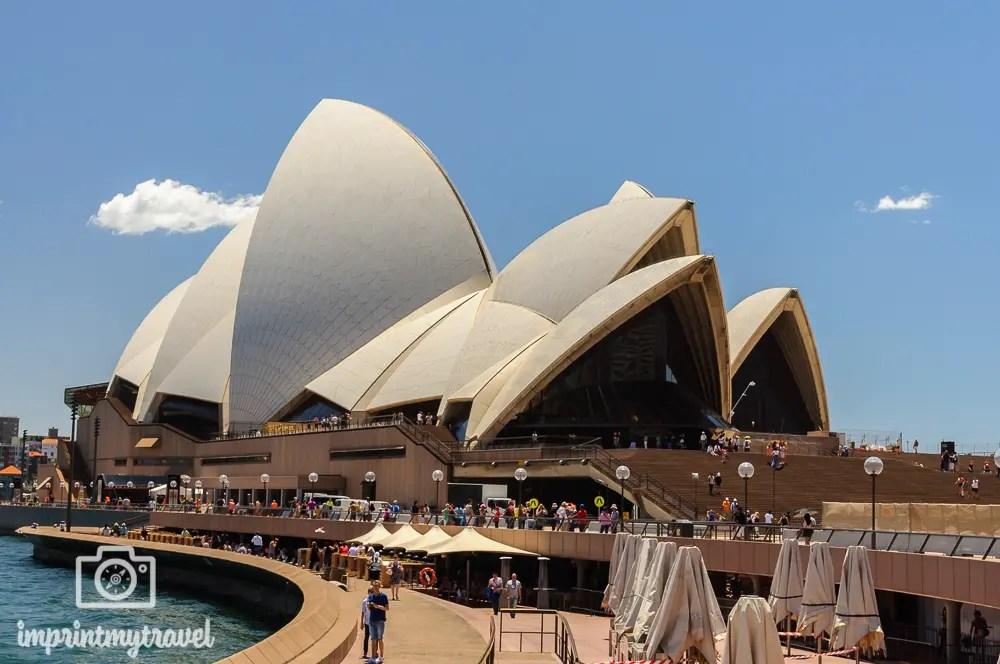 Highlights in Sydney: Opernhaus