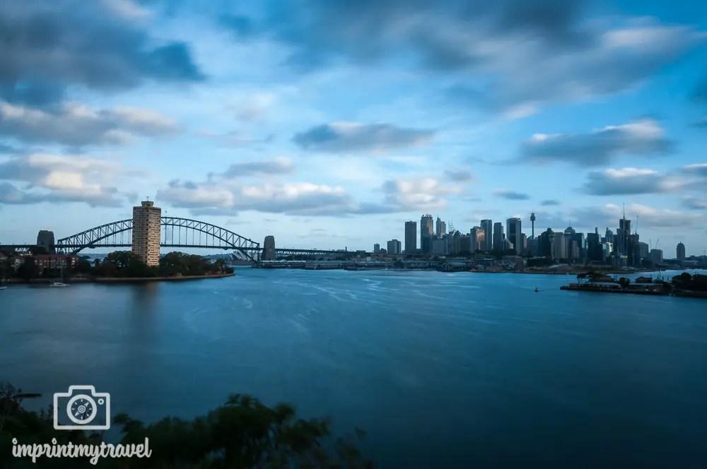 Sydney Aussichtspunkte Ball's Head Reserve