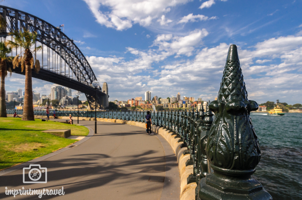 Highlights in Sydney: Dawes Point Lookout