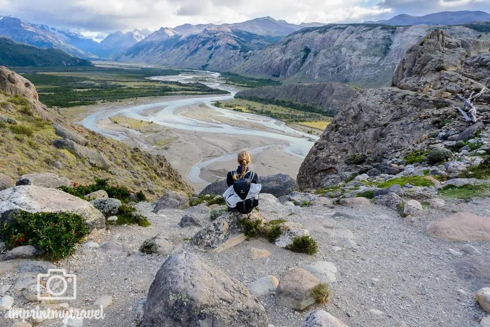 Patagonien Bilder: Mirador Río de las Vueltas