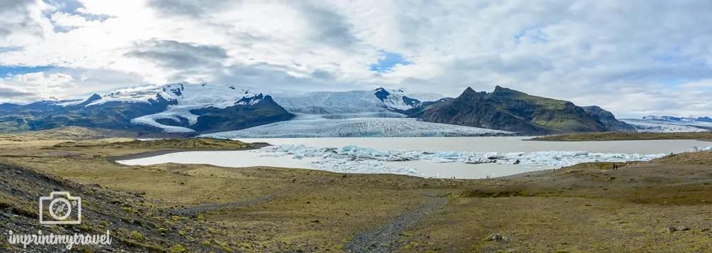 Island Reise Gletscherlagune Fjallsarlon