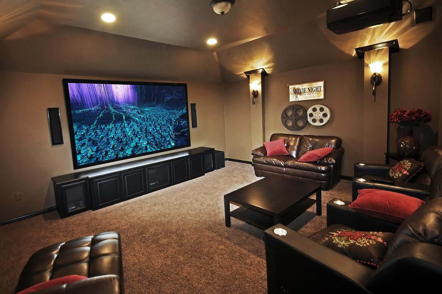 hight resolution of projector screens the 6 best huge home theatre movie screens