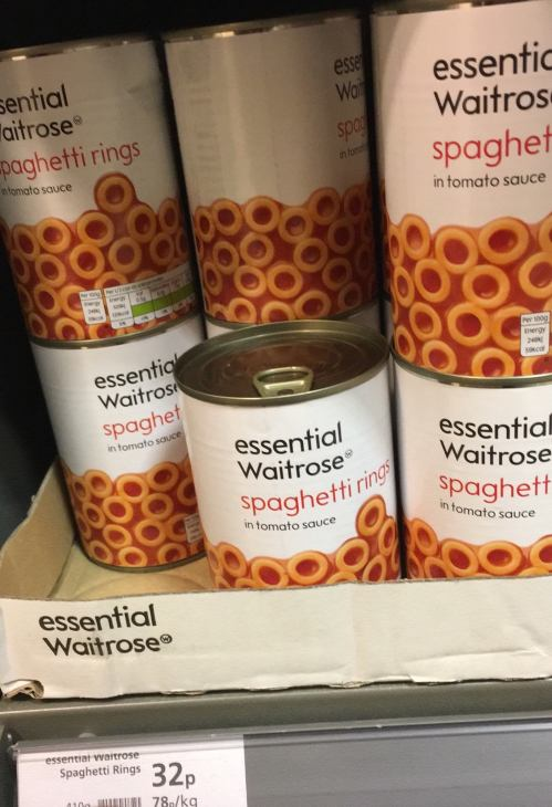 Spaghetti Rings