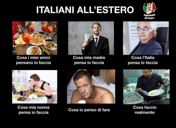 Improbabili Italiani All'Estero