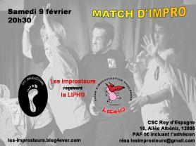 Match avec la LIPHO (2013)