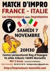 Match France Italie 2015