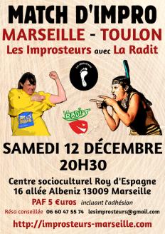 Match d'impro avec la Radit 2015