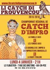 Li Catch di Prouvençou, 4 janvier 2016
